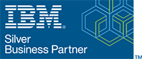 IBM Silver Business Partner Logo - Influential Software