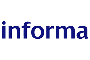 Informa Logo. Publishing / Media sector. Clients of Influential Software Services Ltd.