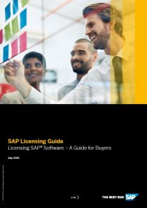 SAP Licencing Guide - A guide for buyers | Buy SAP Licences from official UK Partners Influential Software